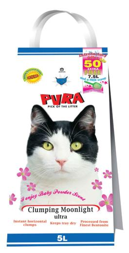 Pura Cat Litter Ultra Lavender Scented