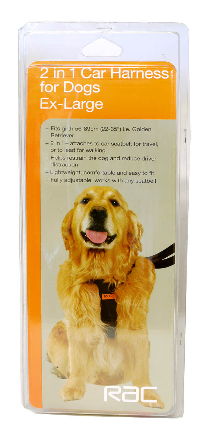 RAC Car Dog Harness
