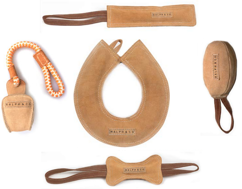 Ralph & Co Buffalo Suede Toys