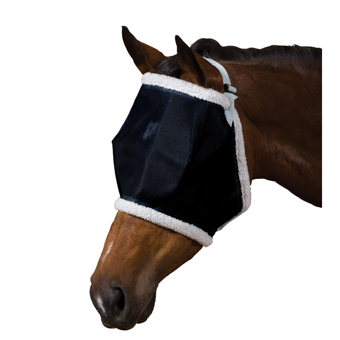 Roma Buzz Away Fly Mask with Fleece