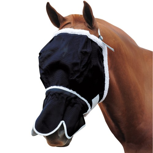 Roma Buzz Away Mask With Fleece And Nose