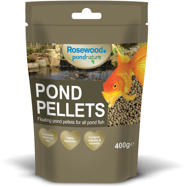 Rosewood Pond Nature Pellets Fish Food