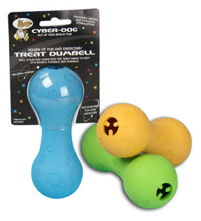 Cyber Dog Treat Dumbell