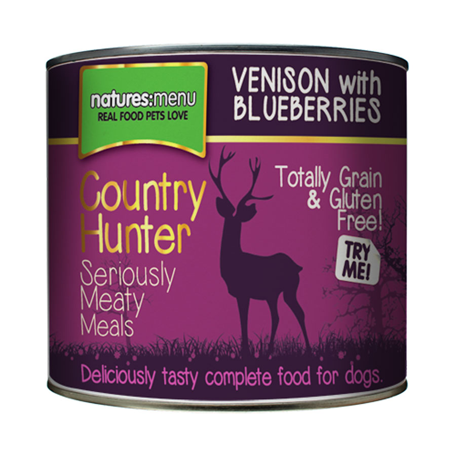 Natures Menu Country Hunter Seriously Meaty Venison & Blueberry Dog Food