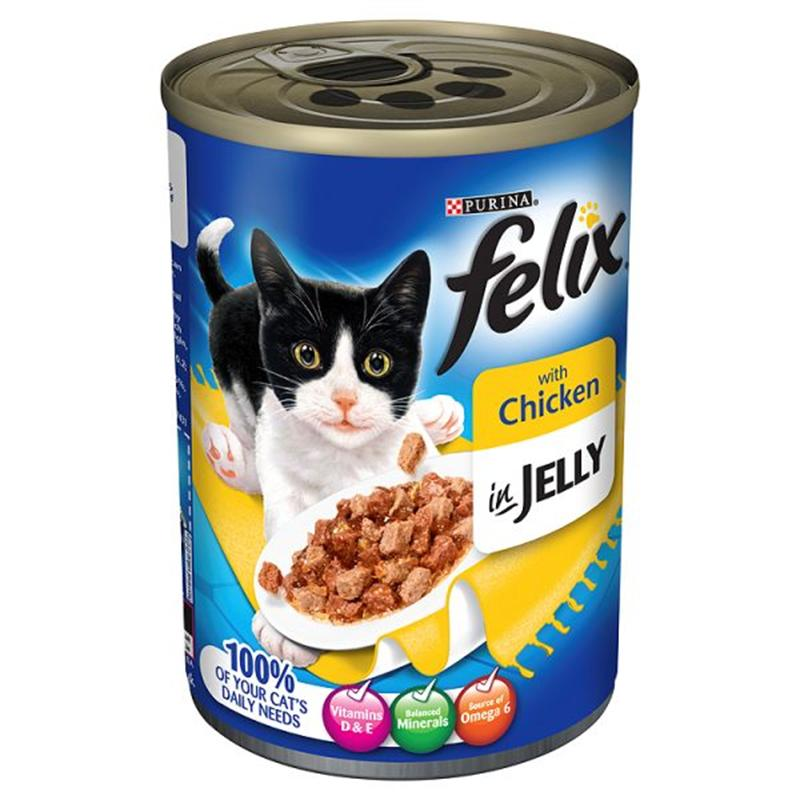 Felix Single Flavour Chunks in Jelly Adult Cat Food