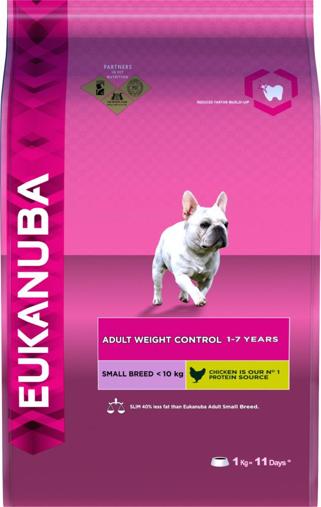 Eukanuba Adult Small Breed Weight Control Dog Food