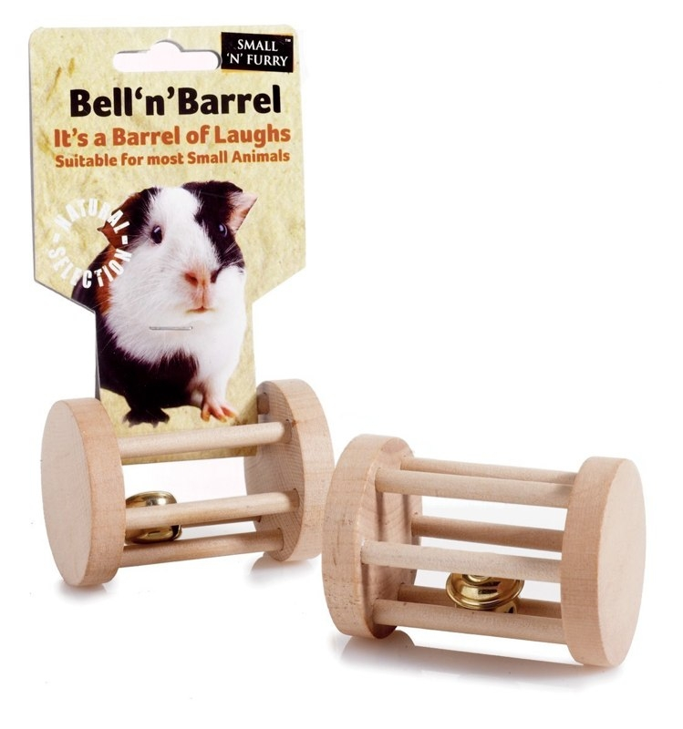 Small 'N' Furry Bell 'n' Barrel for Small Animals