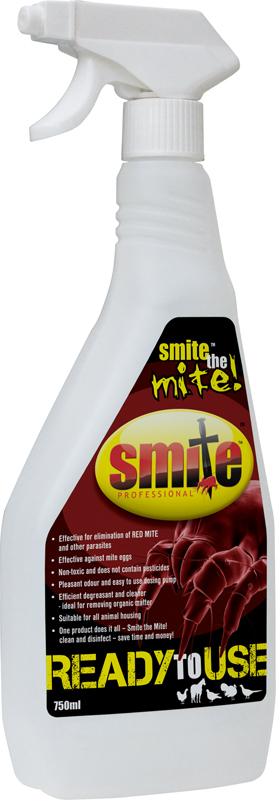 Smite Red Mite/Parasite Treatment & Disinfectant