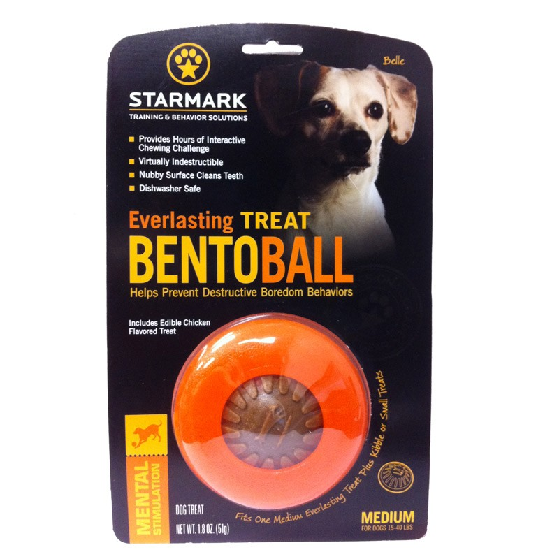 Starmark Everlasting Bento Ball Dog Toy