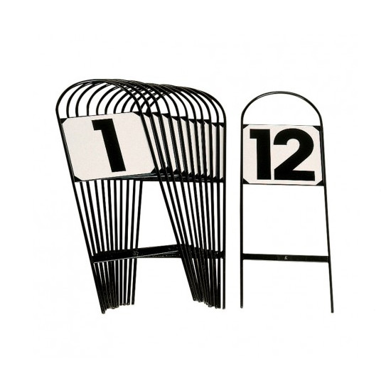 Stubbs Tread-In Metal Dressage Marker Letters & Numbers