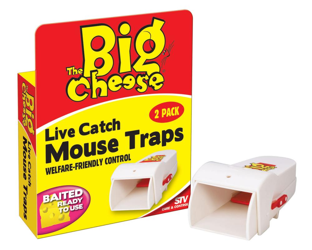 The Big Cheese Live Catch RTU Mouse Trap