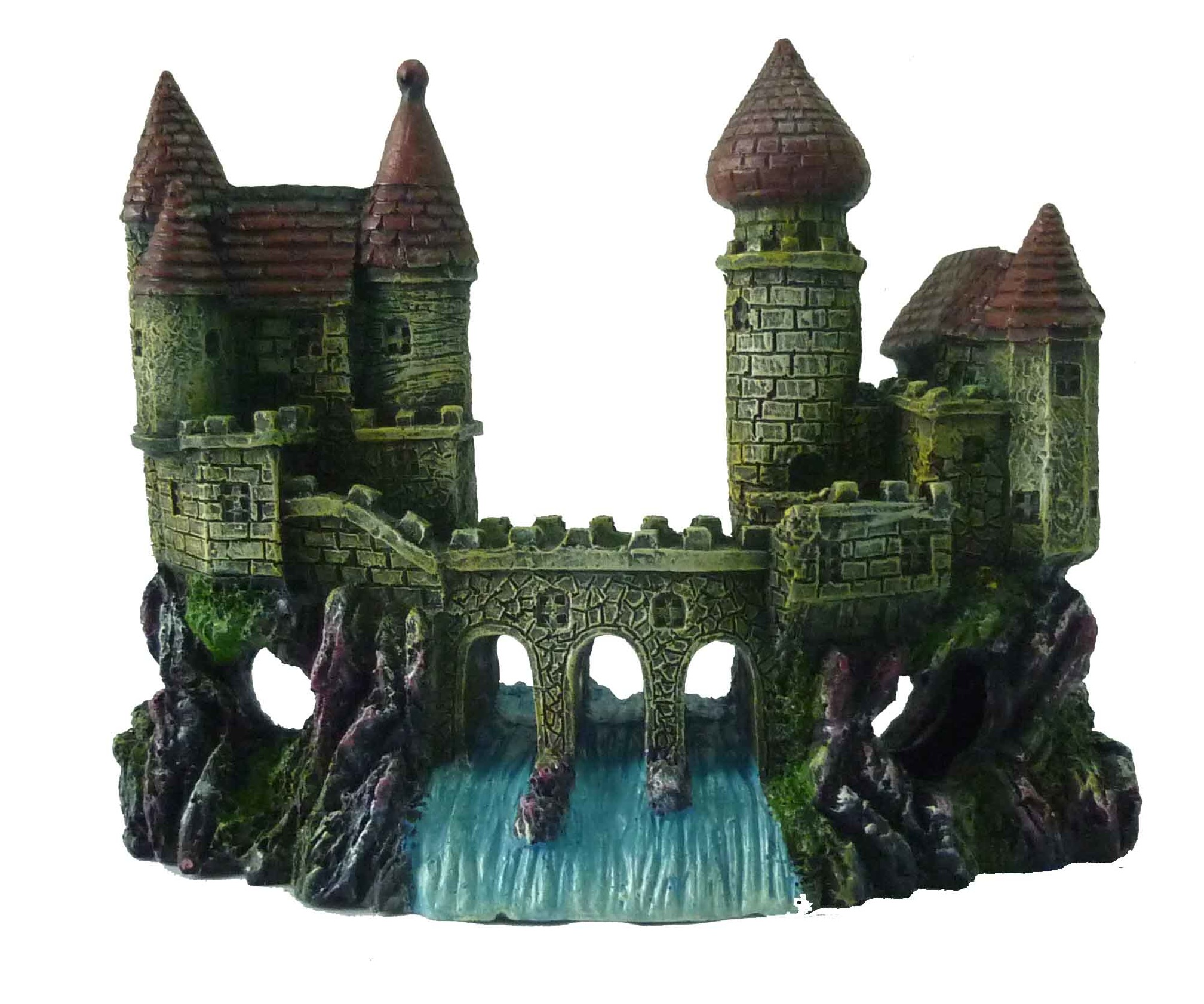 Supa Castle & Bridge Aquarium Ornament