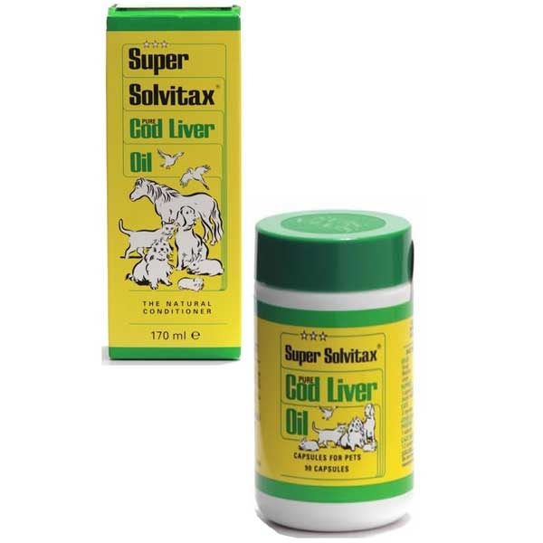 Super Solvitax Cod Liver Oil for Dogs