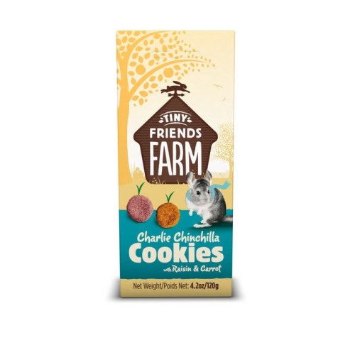 Supreme Tiny Friends Farm Charlie Chinchilla Cookies