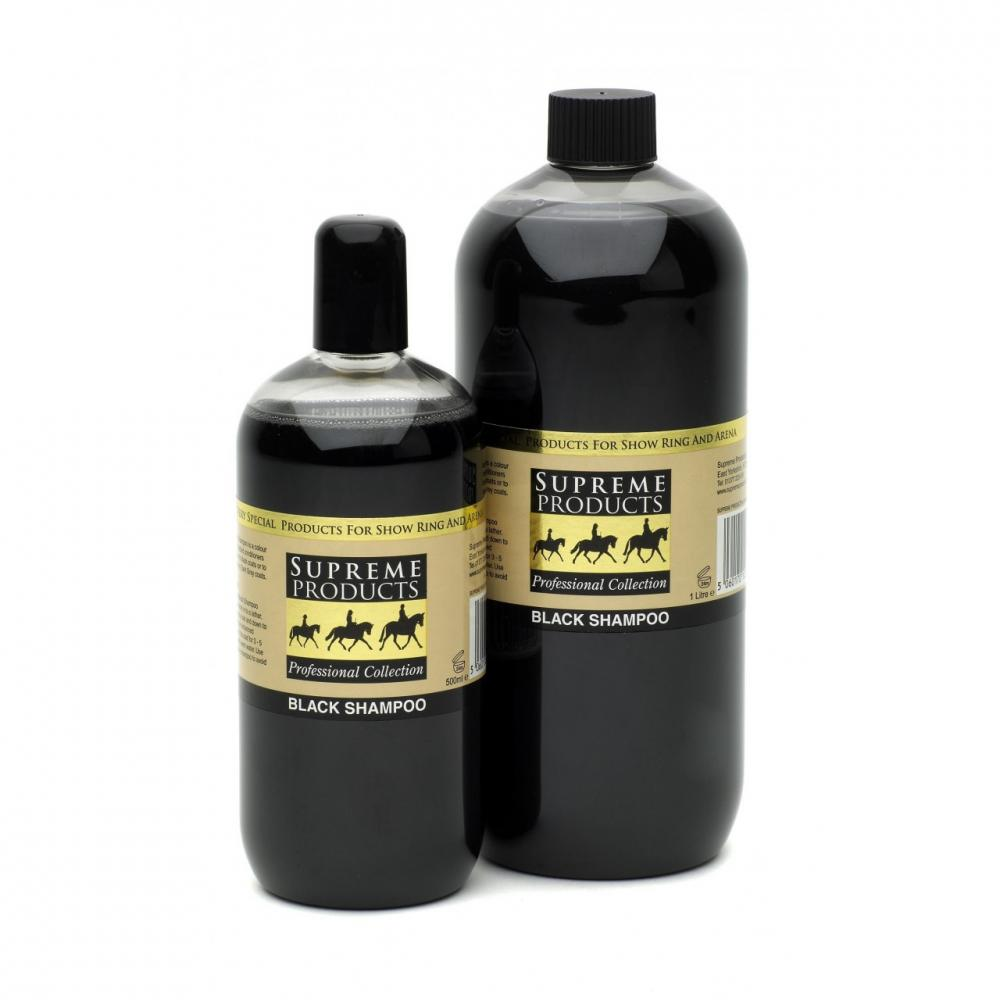 Supreme Products Black Shampoo for Horses