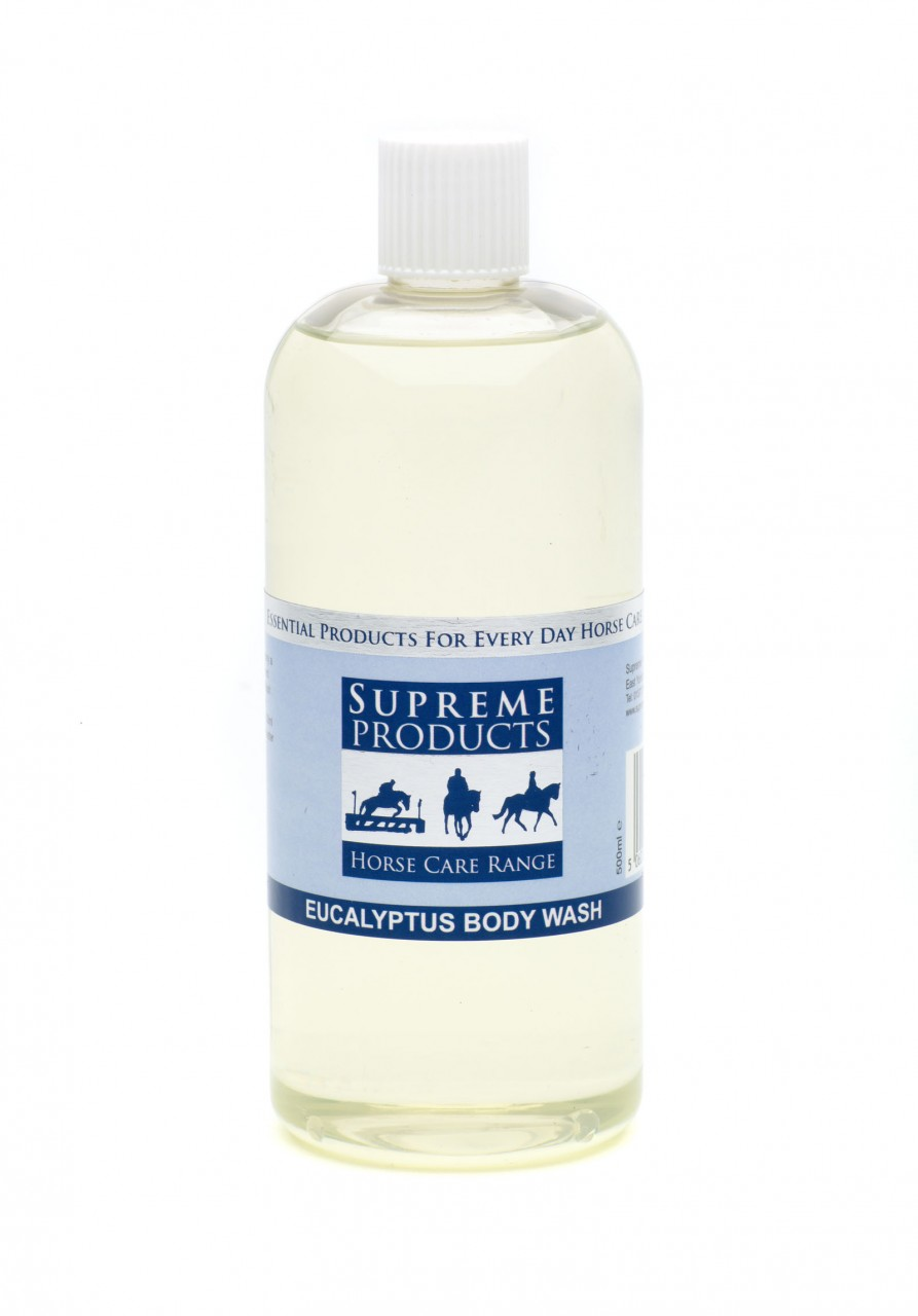 Supreme Products Eucalyptus Body Wash for Horses