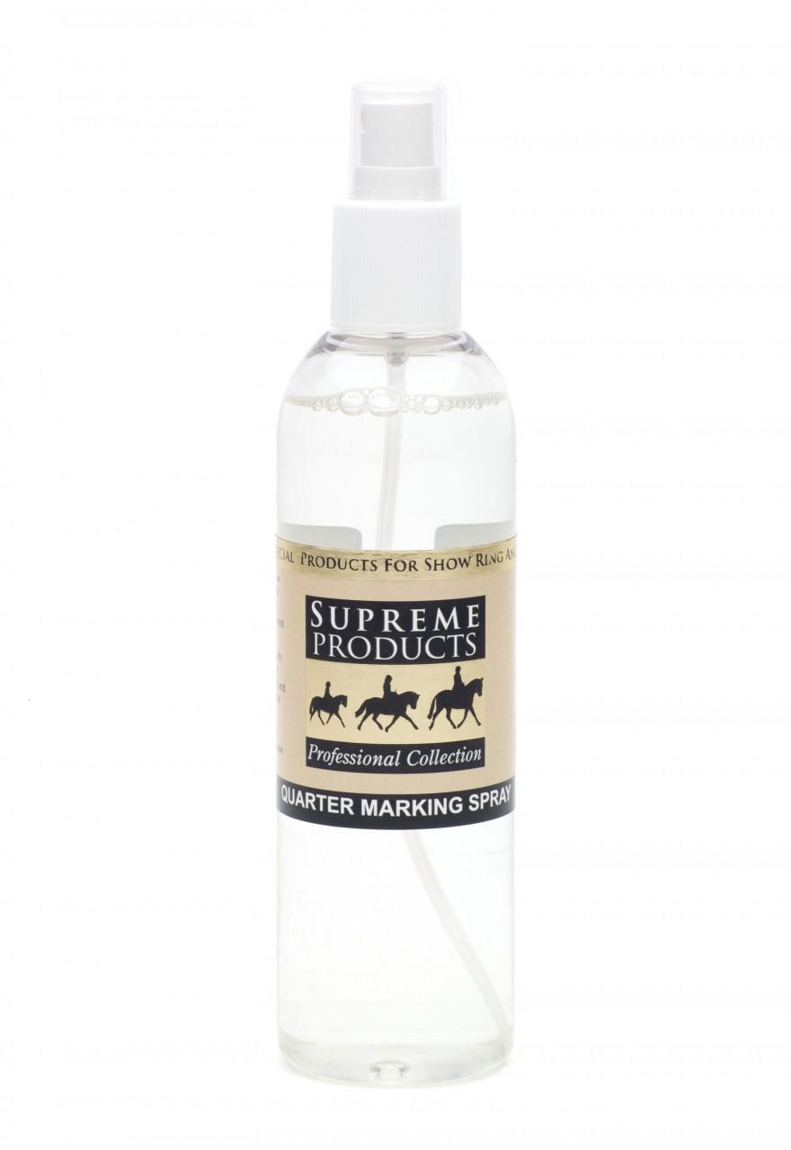 Supreme Products Quarter Marker Spray for Horses