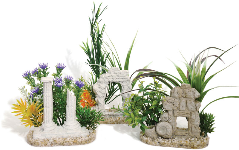 Sydeco Aquaplant Decor Ruins Aquarium Ornament