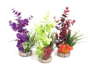Sydeco Coloured Colour Bouquet Aquarium Plant
