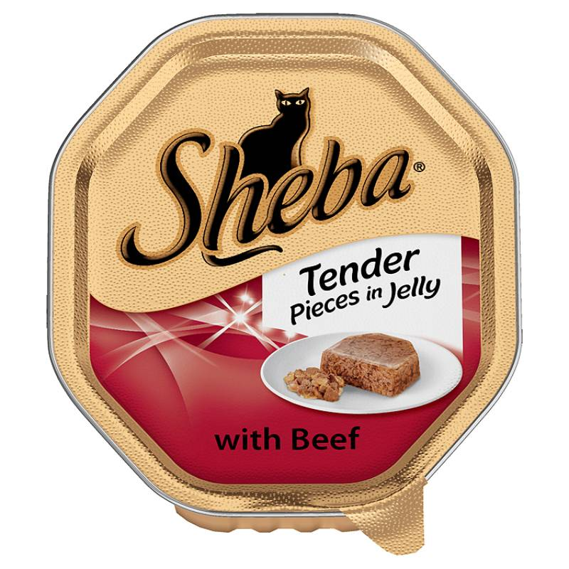 Sheba Tender Pieces in Jelly Alutrays Cat Food