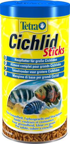Tetra Cichlid Sticks Fish Food