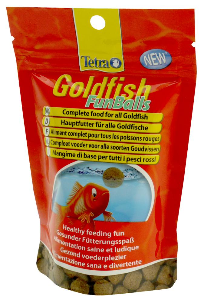 Tetra Goldfish Funballs Food