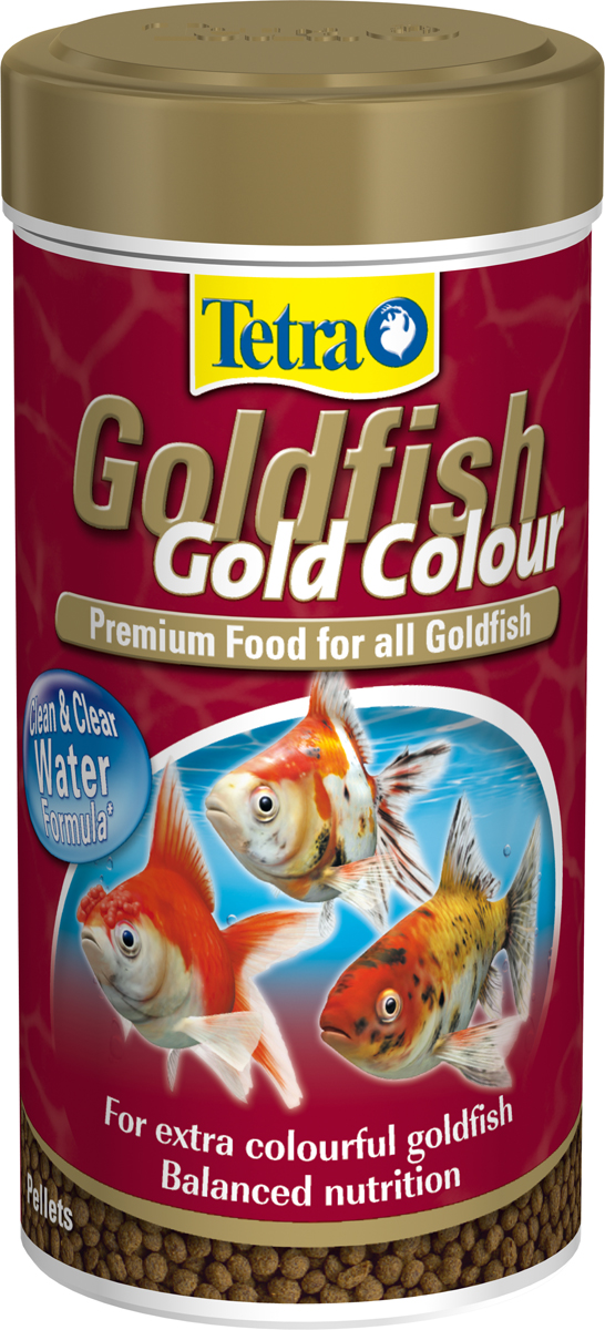 Tetra Goldfish Gold Colour Food