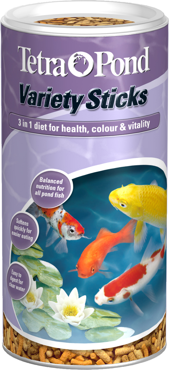 Tetra Pond Variety Sticks Fish Food