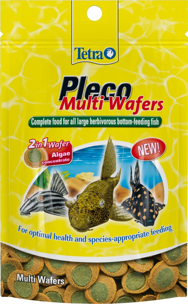 Tetra Pleco Multi Wafers Fish Food