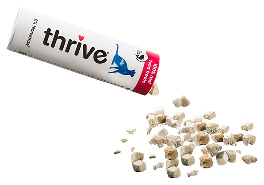 thrive 100% Freeze Dried Cat Treats