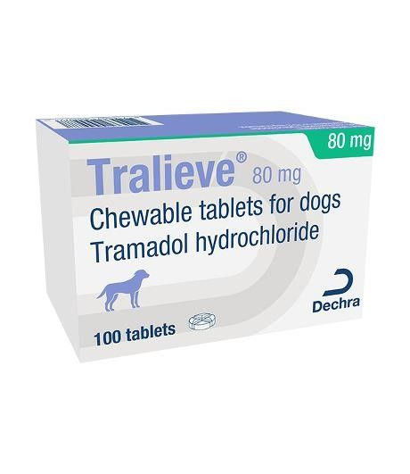 Tralieve Chewable Tablets for Dogs
