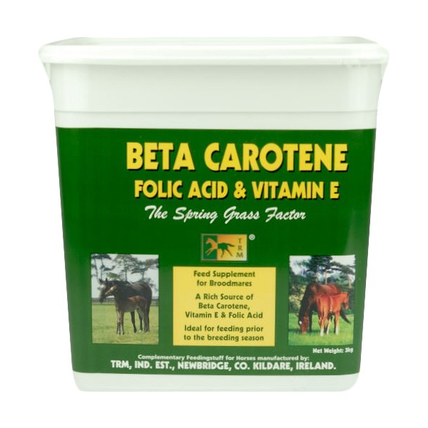 TRM Beta Carotene, Folic Acid & Vitamin E for Horses