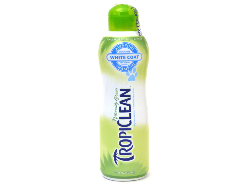 TropiClean White Coat Shampoo for Dogs & Cats
