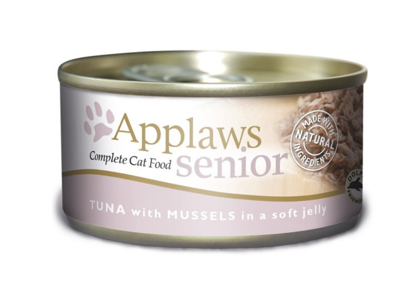 Applaws Senior Tuna & Mussel Canned Cat Food