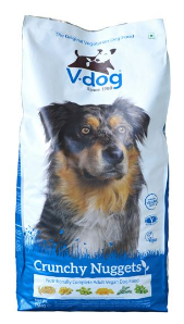 Vegeco V-dog Vegetarian Crunchy Nuggets Dog Food
