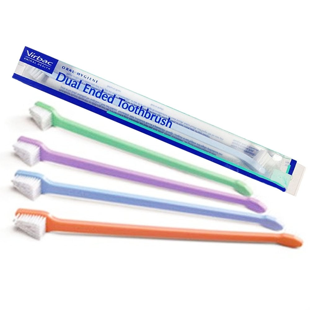 Virbac Dual Ended Toothbrush