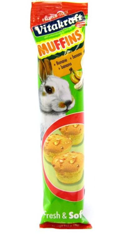 Vitakraft Banana Muffins Rabbit Treats
