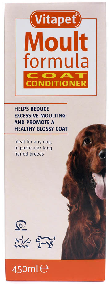 Vitapet Moult Formula Oil Supplement for Dogs