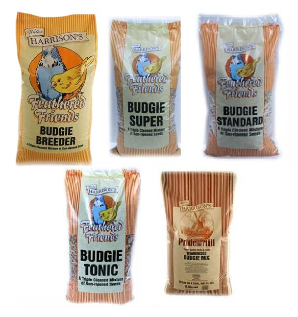Walter Harrisons Budgie Bird Food