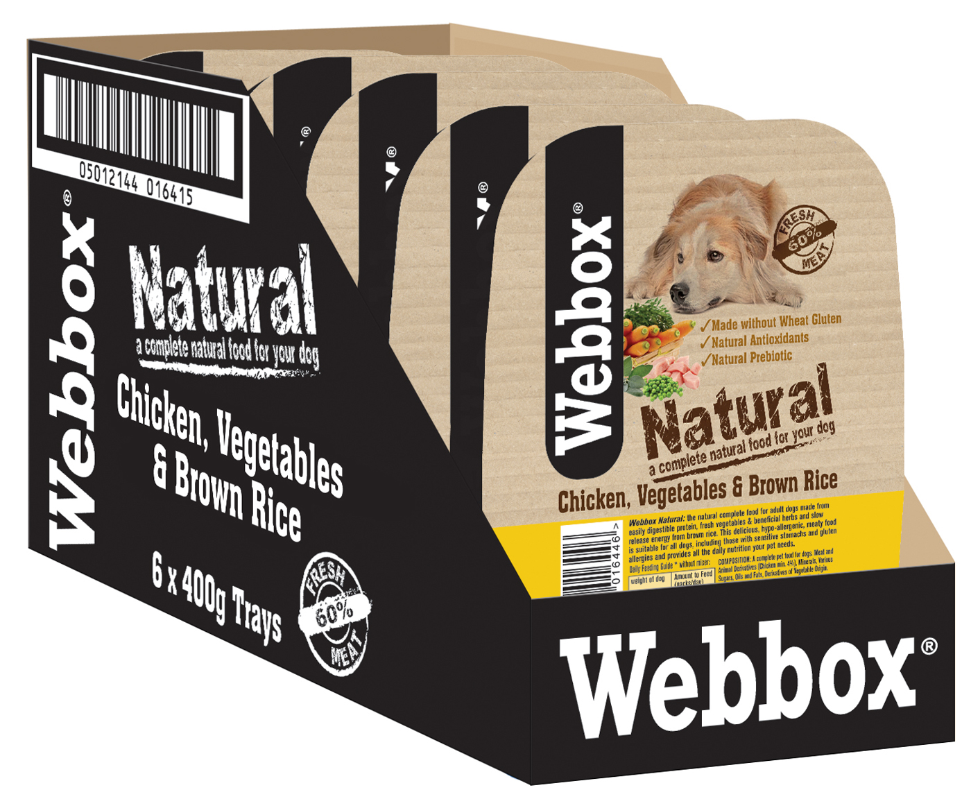 Webbox natural complete lamb chicken wet dog food for Cuisines completes