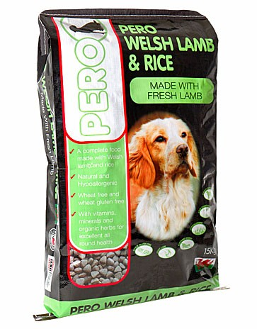 Pero Welsh Lamb & Rice Dog Food