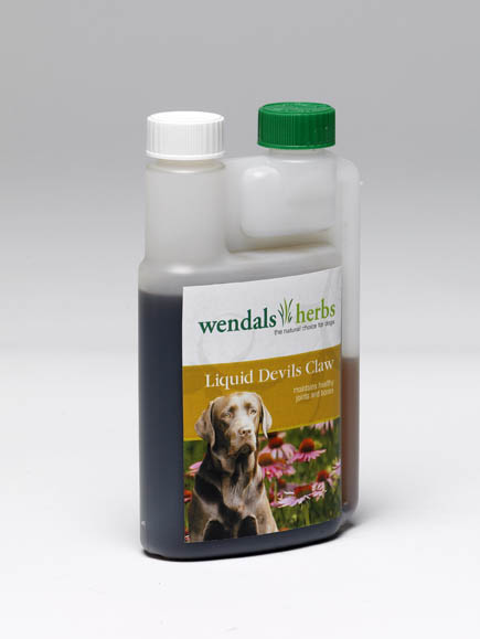 Wendals Liquid 🐶 Dog Devils Claw Root Aid Mobility In