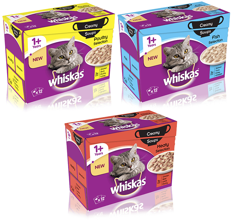 Whiskas 1+ Years Creamy Soup