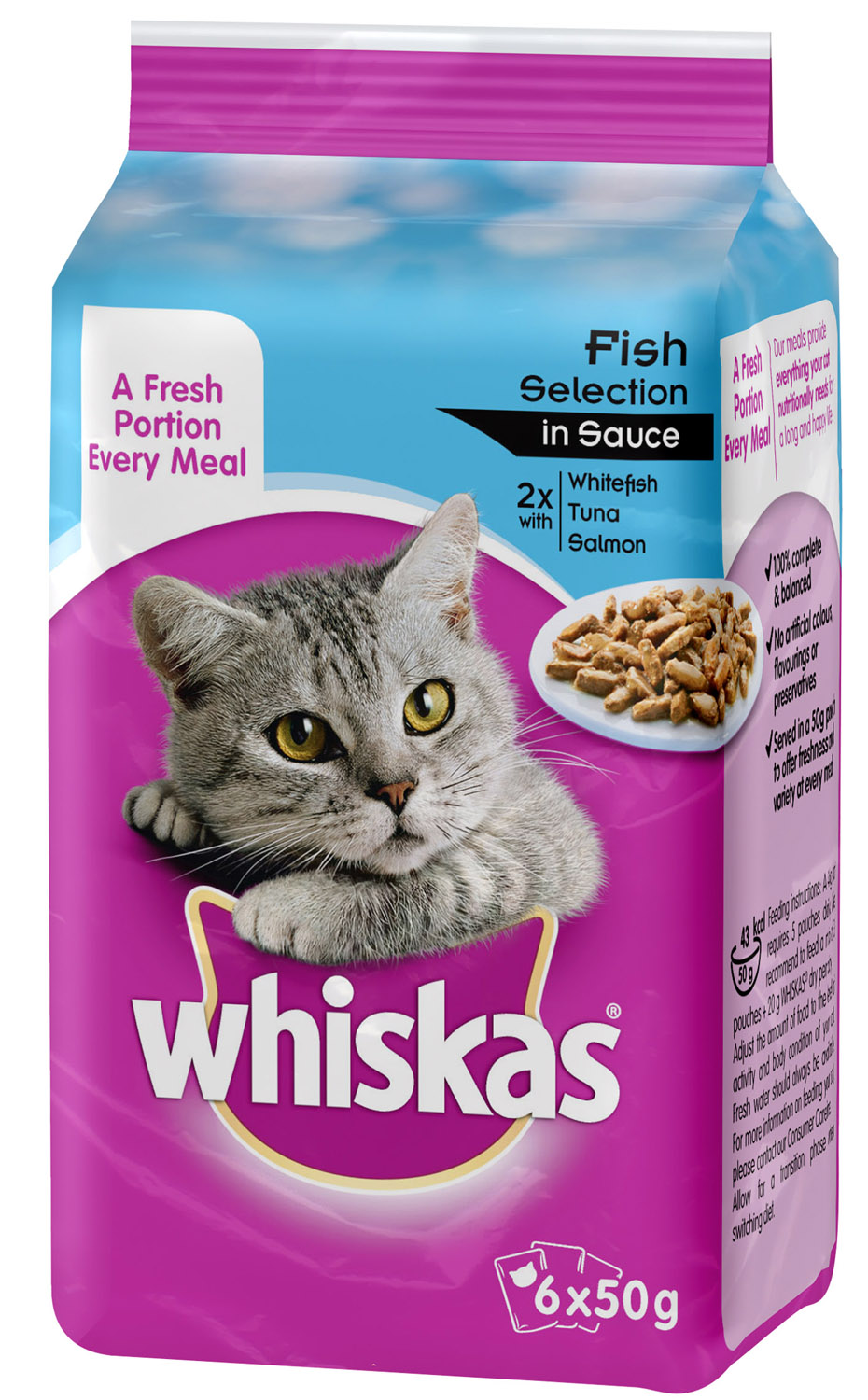 Whiskas Fresh Selection Adult Cat Food