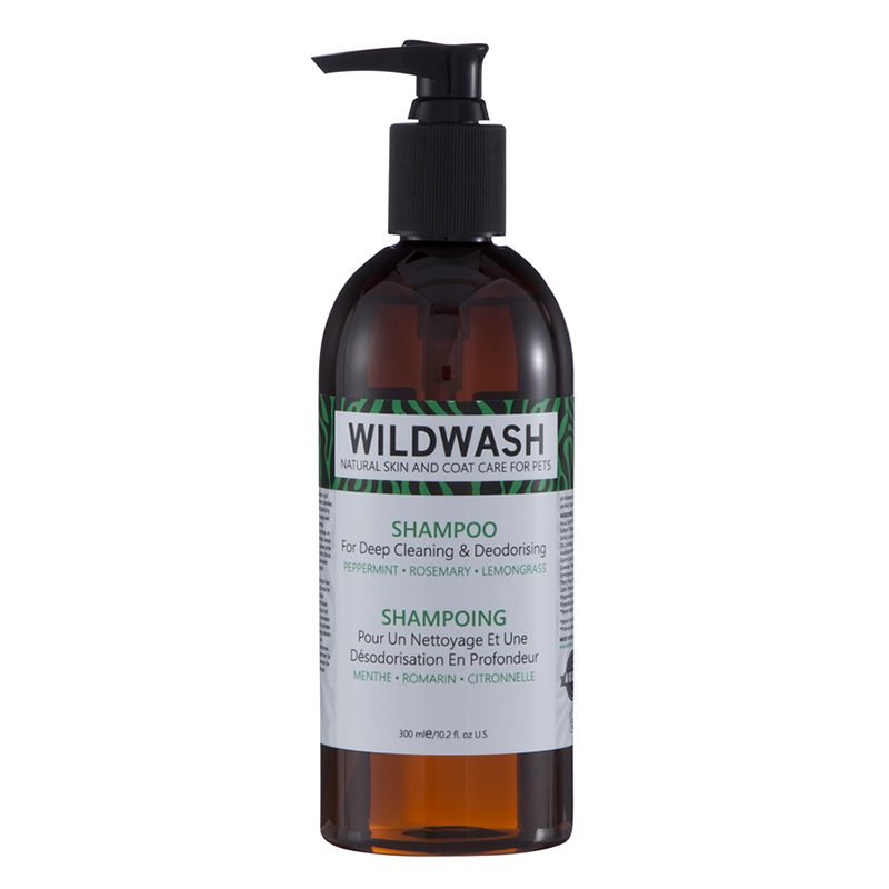 Wild Wash Dog Shampoo for Deep Cleaning & Deodorising