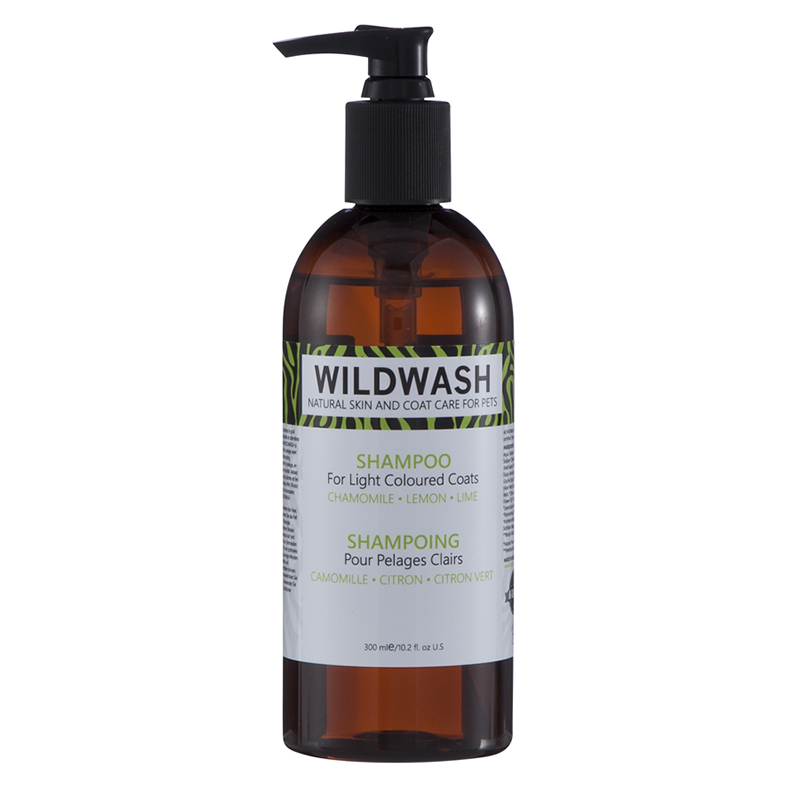 Wild Wash Dog Shampoo for Light Coloured Coats