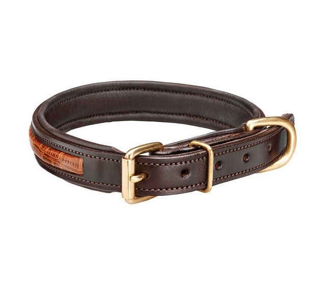 Woofmasta Croc Leather Collar