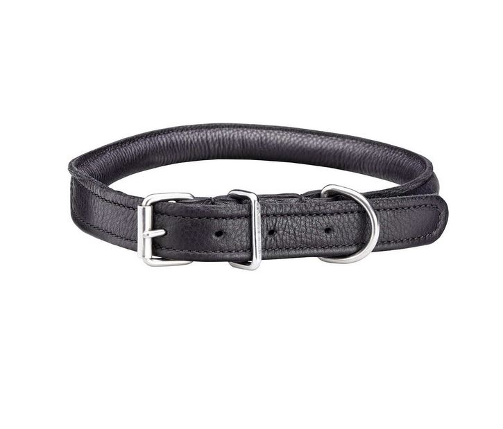 Woofmasta Rolled Leather Collar