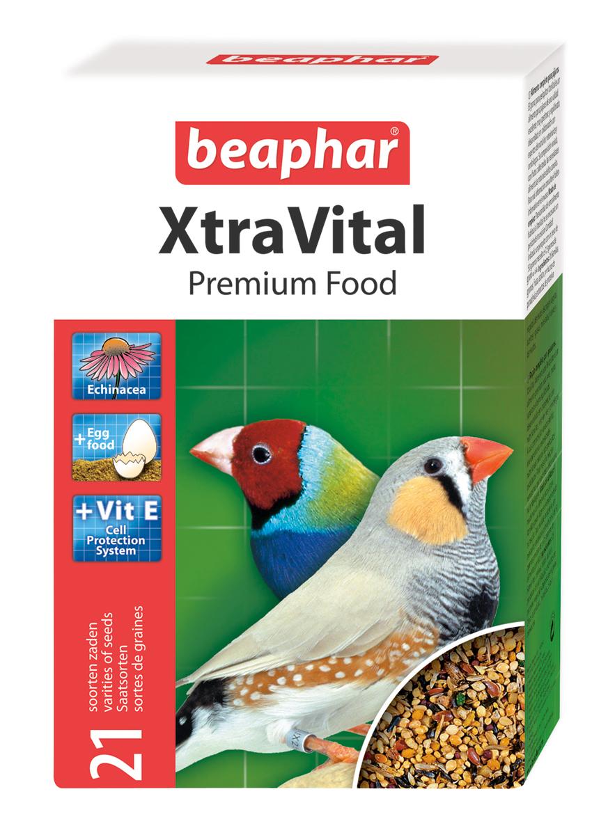 Beaphar XtraVital Finch Bird Food