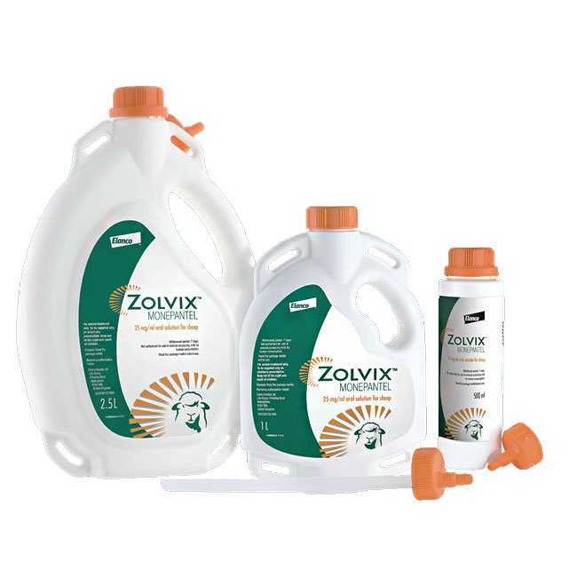 Zolvix Oral Solution for Sheep